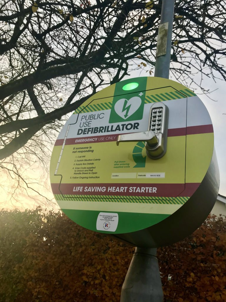 Ashworth Park Defibrillator